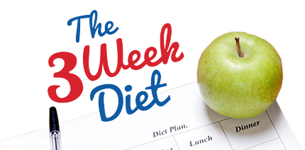Try out the 3 week diet plan to lose 21 lbs of fat in 21 days. A popular diet plan for women in the USA