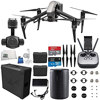 Best Value is in the bundle of the DJI Inspire 2 Quadcopter + Zenmuse X4S Starters Bundle at Amazon.com in 2017 to 2018 so don't hesitate. Buy your DJI drone today.